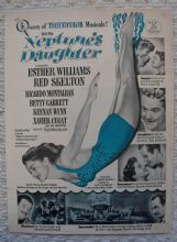 Neptune's Daughter (1949) - Esther Williams | Vintage Trade Ad